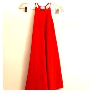 Orange/red Zara sun dress